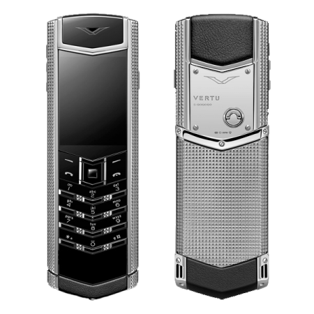 Vertu Signature S Design Clous De Paris Нержавеющая сталь