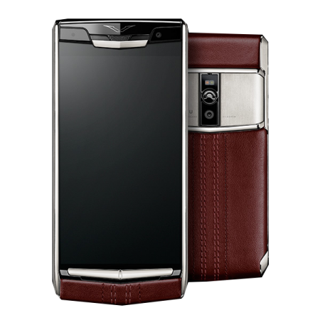 Новинка! Vertu Signature Touch Garnet Calf