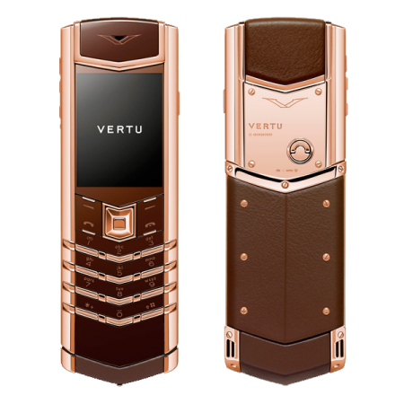 Vertu Signature S Design Pure Chocolate Red Gold