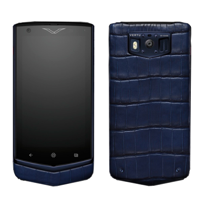 Constellation V Vertu Constellation V Pure Navy Alligator