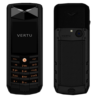Vertu Ascent X 2010 Black Knurl