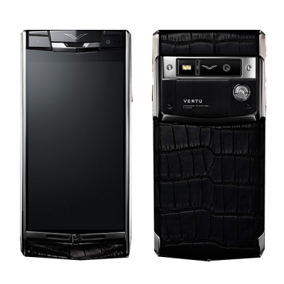 Vertu Signature Touch Jet Alligator