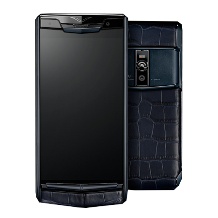 Новинка! Vertu Signature Touch Pure Navy Alligator