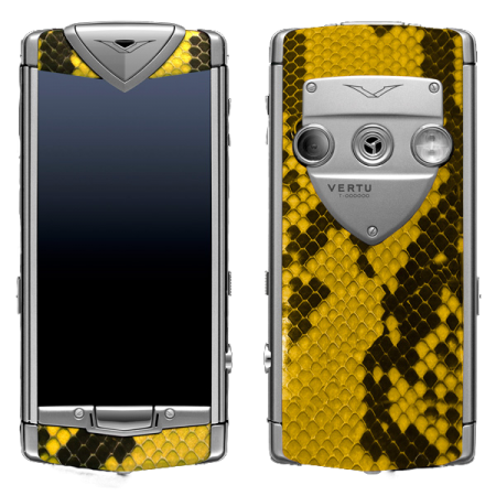 Vertu Constellation T Python Yellow